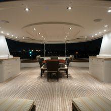 Nina Lu Yacht Exterior Dining