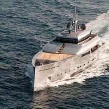 Exuma Yacht Running Shot - Front