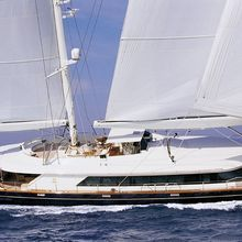 Is A Rose Yacht Side View