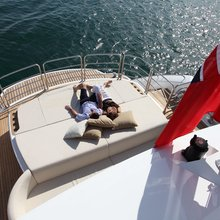 Regulus Yacht Aerial