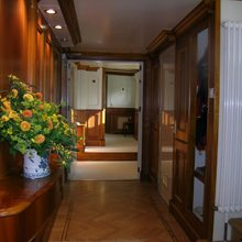 Elsa Yacht Master Hallway