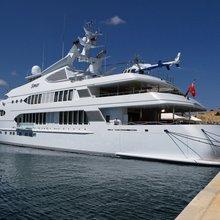 Samar Yacht Moored