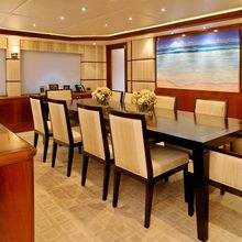 Waku Yacht Dining Salon