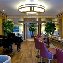 Neom Yacht Main Saloon Bar