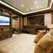 Force India Yacht VIP Stateroom - Screen