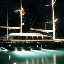 Infinity Yacht Underwater Lights
