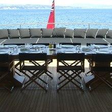 Tugatsu Yacht Exterior Dining