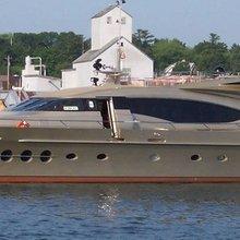 Bagheera Yacht Side View