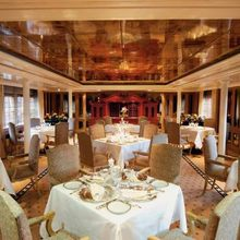 Savarona Yacht Dining Salon