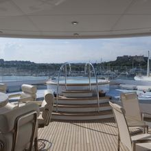 Huntress Yacht Flybridge