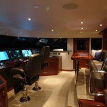 Nina Lu Yacht Pilothouse