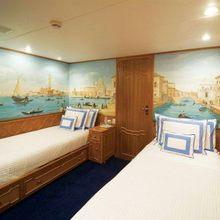 Genesia Yacht Twin Stateroom - White