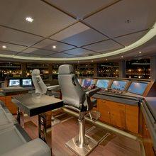 Huntress Yacht Wheelhouse