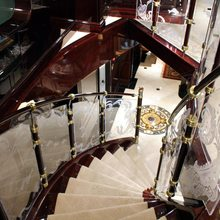 Ionian Princess Yacht Staircase Looking Down