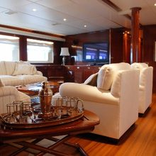 Ariete Primo Yacht Small Salon on Main Deck