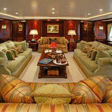 Paraffin Yacht Main Salon - Evening