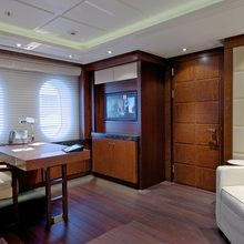 Huntress Yacht Private Lounge