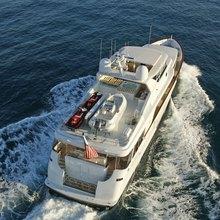 Haven Yacht Running Shot - Rear View
