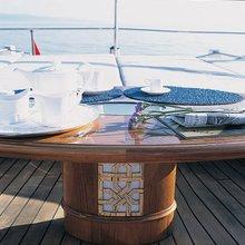 Arriva Yacht Sundeck Detail