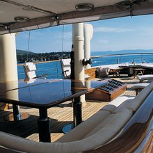 Arriva Yacht Deck View