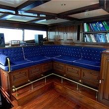 Providence Yacht Bridge Seating Area