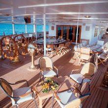 Savarona Yacht Flybridge
