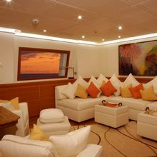 M5 Yacht Main Salon - Sunset