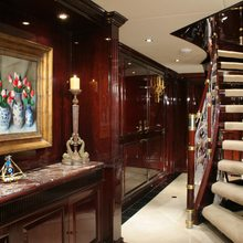Ionian Princess Yacht Staircase