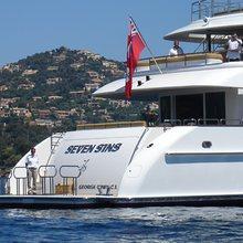 The Lady K Yacht Swim Deck