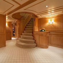 Enigma Yacht Stairwell