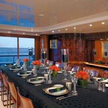 Bad Girl Yacht Dining