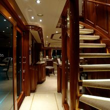 Nina Lu Yacht Staircase