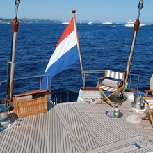 Corto Maltese Yacht Stern