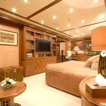 Force India Yacht Master Stateroom - Side View