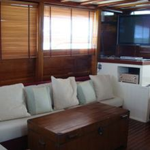 Classic Ketch Yacht