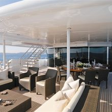 Leonardo III Yacht Exterior Seating