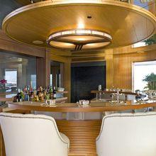 H Yacht Owner's Deck Bar