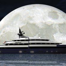 Seven Seas Yacht Artist's Impression - Night