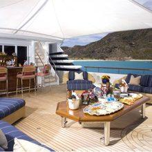 Paraffin Yacht Aft Deck