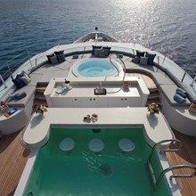 Ventum Maris Yacht Sundeck Aerial View