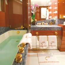 Bad Girl Yacht Twin Bathroom