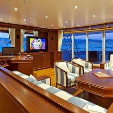 Sea Eagle Yacht Upper Lounge