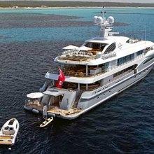 Ventum Maris Yacht Rear View - Towing Tender