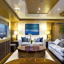 H Yacht Main Saloon