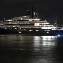 Seven Seas Yacht Profile - Night