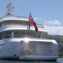 Majestic Yacht Stern