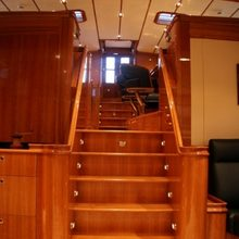 Seabiscuit Yacht Saloon Stairs