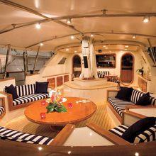 Norfolk Star Yacht Aft Deck