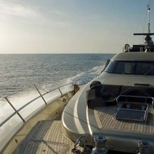 Bagheera Yacht Forebow