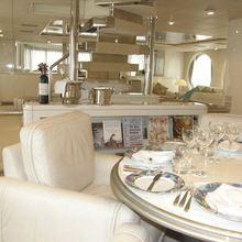 Lady Arraya Yacht Dining Salon